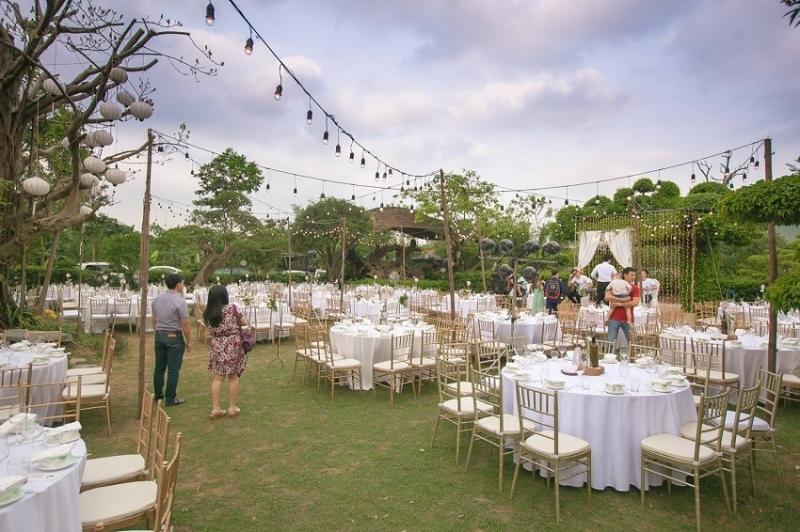 Mức giá tổ chức tiệc cưới Hà Nội