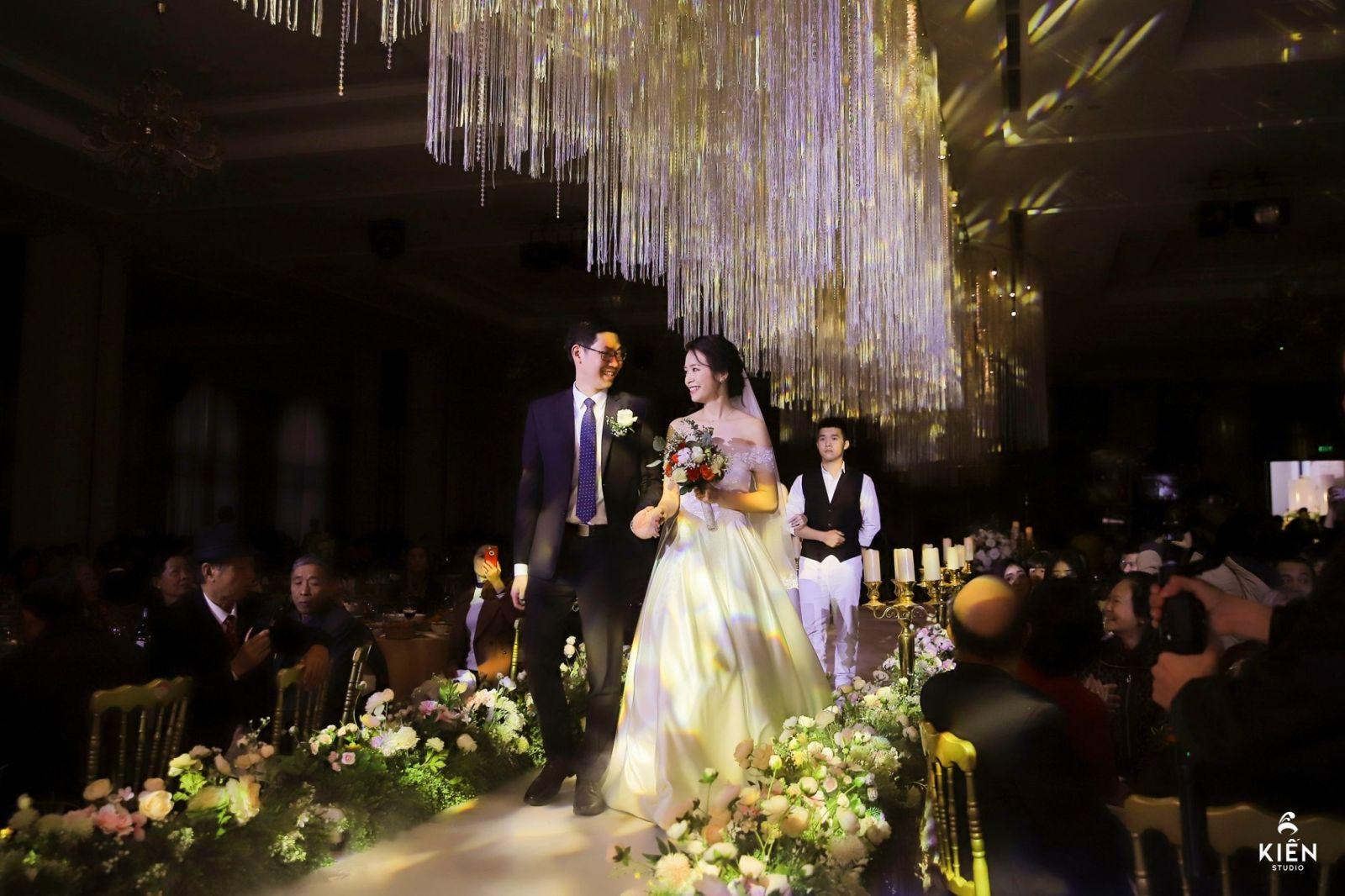 Các nhà hàng tiệc cưới Hà Nội phổ biến hiện nay