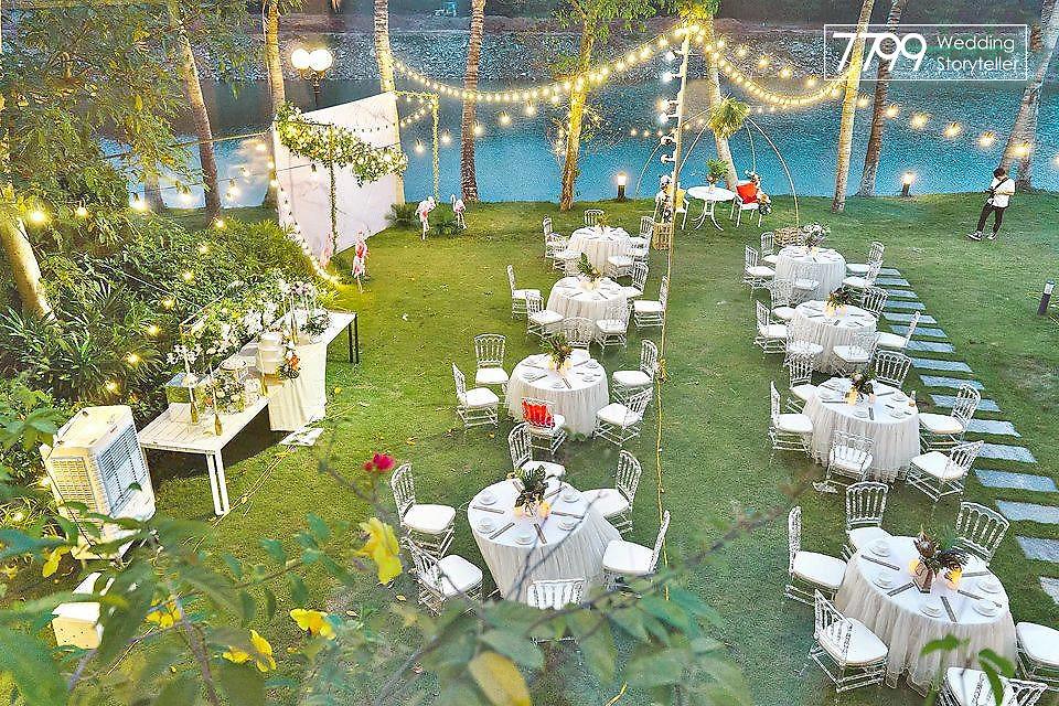 Tổ chức đám cưới ngoài trời Hà Nội