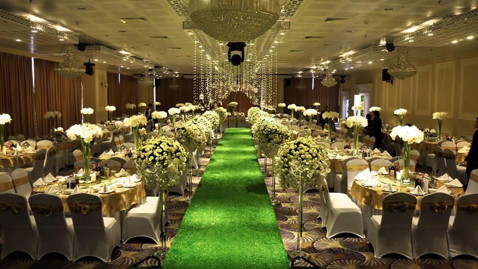 Các trung tâm tiệc cưới Hà Nội sang trọng tiêu chuẩn 5 sao